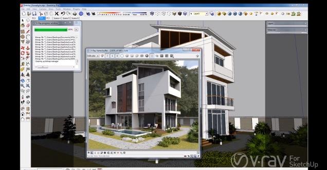 V-Ray 2 0 для SketchUp - купить V-Ray 2 0 для SketchUp, отзывы, цена
